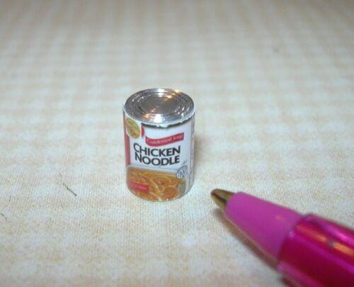 DOLLHOUSE Miniatures 1:12 Scale Miniature Chicken Noodle Soup Can