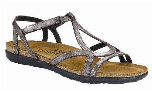 Naot Dorith Grecian plata plata plata Threads Gladiador Sandal mujer Tallas 5-11 36-42  nuevo  precio mas barato