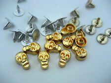 20 skull cool Rivets Decoration Fasteners Studs Button Sewing Leather craft jean