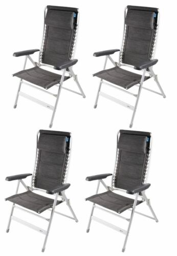 4 x Kampa Lounge Chair Modena
