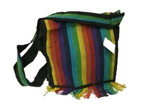 New-Rainbow-Hippie-Boho-Festival-Cotton-Unisex-Bag