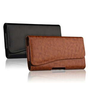 HORIZONTAL-LEATHER-CASE-FOR-IPHONE-8-8-PLUS-CARRYING-POUCH-BELT-CLIP-HOLSTER