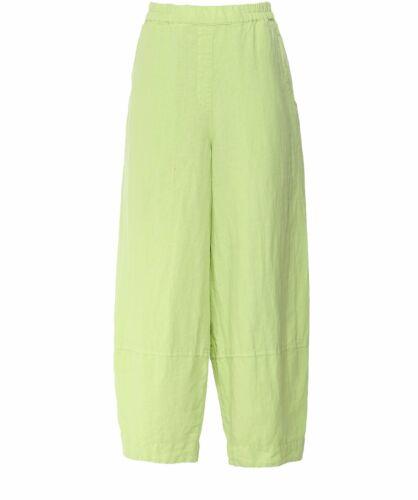 Grizas Linen Wide Leg Trousers