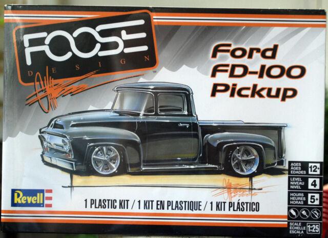1956 Ford FD 100 Pickup Chip Foose, 1:25, Revell 4426 neu 2017 ganz neu