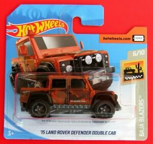 Hot-Wheels-2019-039-15-Land-Rover-Defender-Double-Cab-14-250-neu-amp-ovp