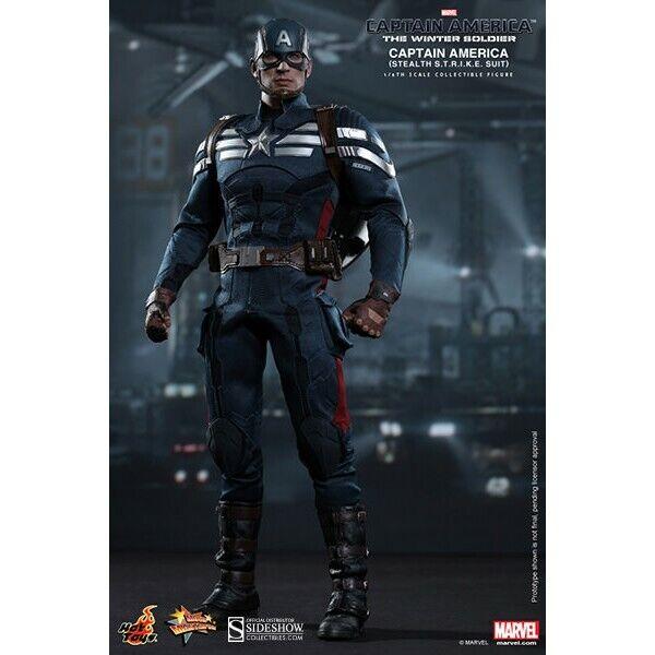 Captain America Stealth S.T.R.I.K.E. Suit MMS242 Figurine  1 6 Hot Toys  achats en ligne de sport