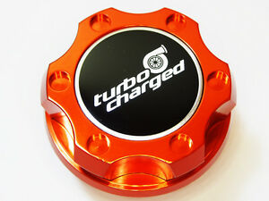 DODGE VIPER RT SRT RAM SRT10 SUPERCHARGED HEMI BILLET ENGINE OIL CAP ORANGE