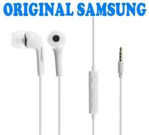 Helm-Kopfhoerer-Samsung-ear-Weiss-Galaxy-S2-S3-S4-S5-S6-Original