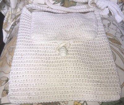 Coraggioso Attraente Lady's, Vintage, Semiminima Bag. 1980s Articolo Con Alcuni Segni Di Usura-mostra Il Titolo Originale Facile Da Riparare
