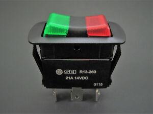 Illuminated-SPDT-On-Off-On-Waterproof-Rocker-Switch-21A-14V-NTE-54-241W