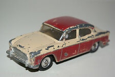 DINKY TOYS 165 HUMBER HAWK TWO TONE MAROON EXCELLENT CONDITION
