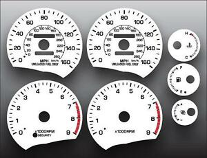 1989-1999-Toyota-MR2-160-MPH-Dash-Instrument-Cluster-White-Face-Gauges