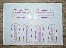 Bikini Swimsuit Briefs Underwear Liners Hygiene Clothes Shop Sticker 320 Labels