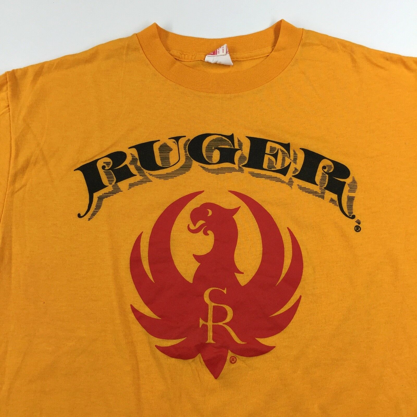Vintage 80's Strum Ruger Firearms T-Shirt Größe M / L Weapon Guns EXC. 50/50 SOFT