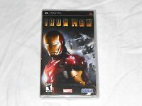 Iron Man 1 Sony Psp Game Factory Sealed Ironman Playstation Portable