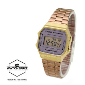 Image is loading Casio-Standard-Digital-Vintage-Watch-A168WECM-5D a47a448ad2