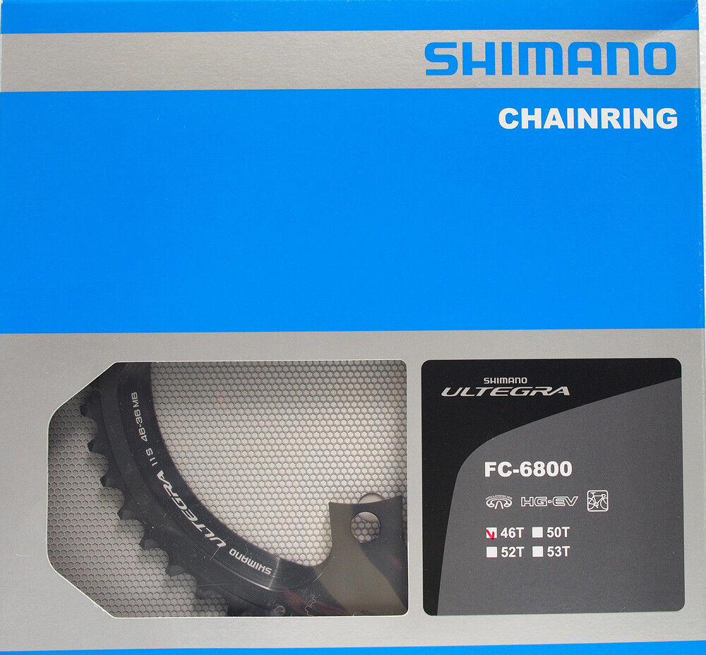 Shimano Ultegra FC-6800 Chainring 46T for 46-36T, 11 speed