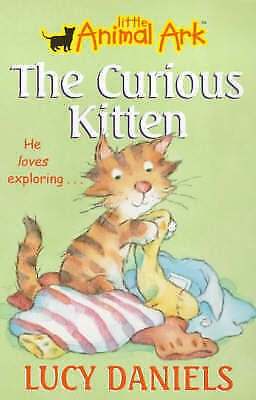 """""""AS NEW"""" The Curious Kitten: Book 2 (Little Animal Ark), Daniels, Lucy, Book"""