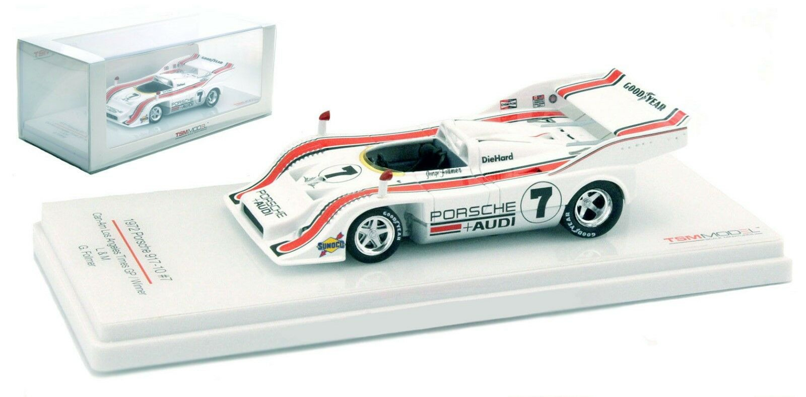 TRUESCALE Porsche 917 10  7 CAN AM CHAMPION 1972-George Follmer échelle 1 43