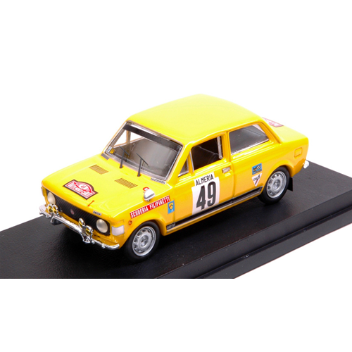 FIAT 128 RALLY N.49 21th MONTE CARLO 1972 P.LIER-J.P.FRATTINI 1:43 Rio Die Cast