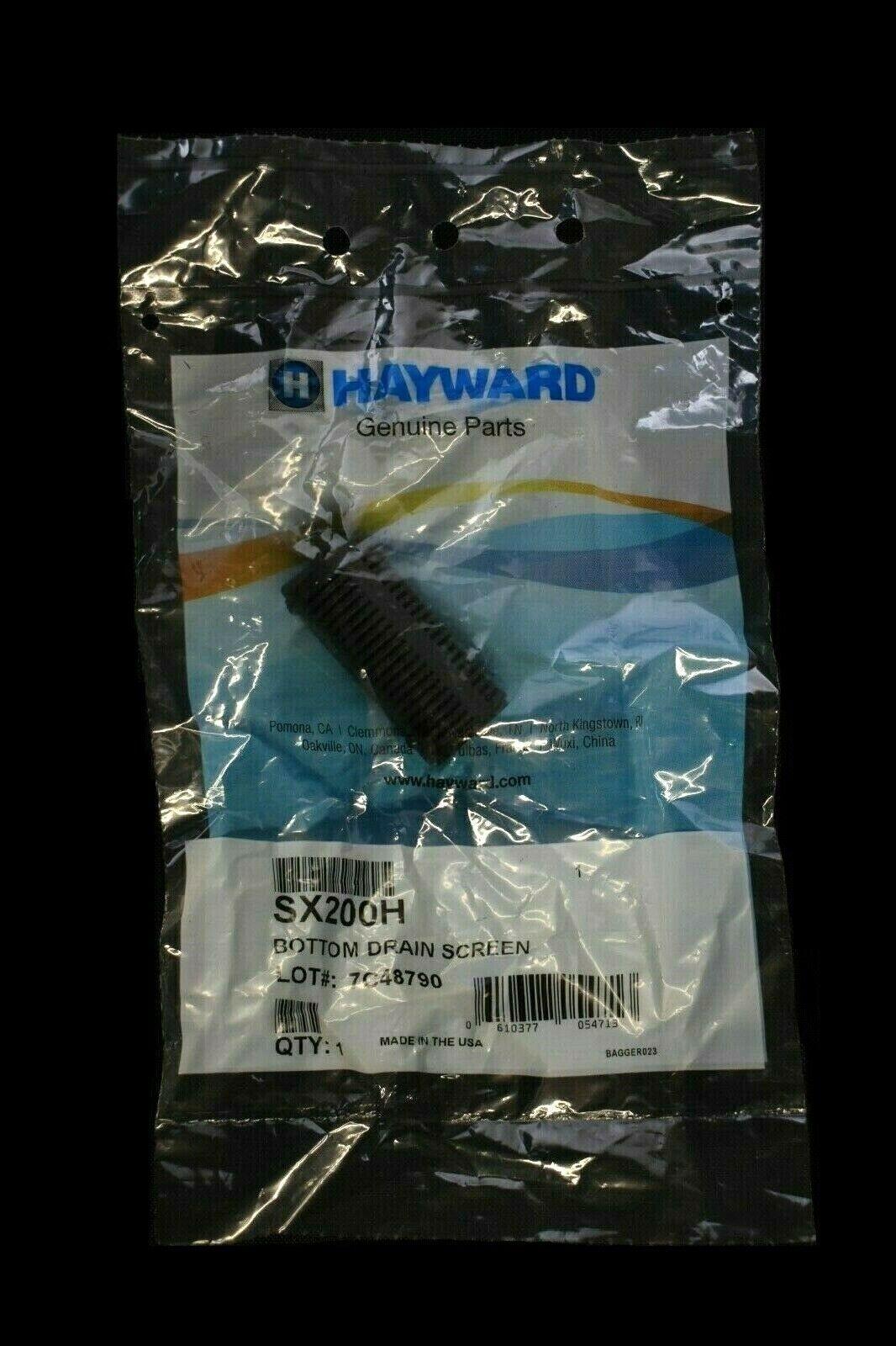 Genuine Hayward Sand Filter S244T S166T SX200H Bottom Drain Screen 2005 Prior
