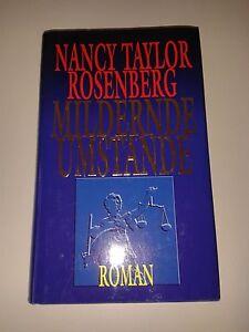 """Nancy Taylor Rosenberg - """"Mildernde Umstände"""" - Deutschland - Nancy Taylor Rosenberg - """"Mildernde Umstände"""" - Deutschland"""