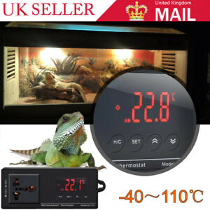 Digital-Reptile-Aquarium-Thermostat-Heat-Mat-Temp-Control-Incubator-For-Lizard
