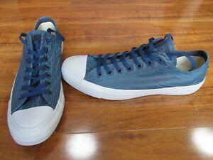 4f940906449d NEW Converse Custom Chuck Taylor All Star Shoes Mens SZ 11.5 BLUE ...