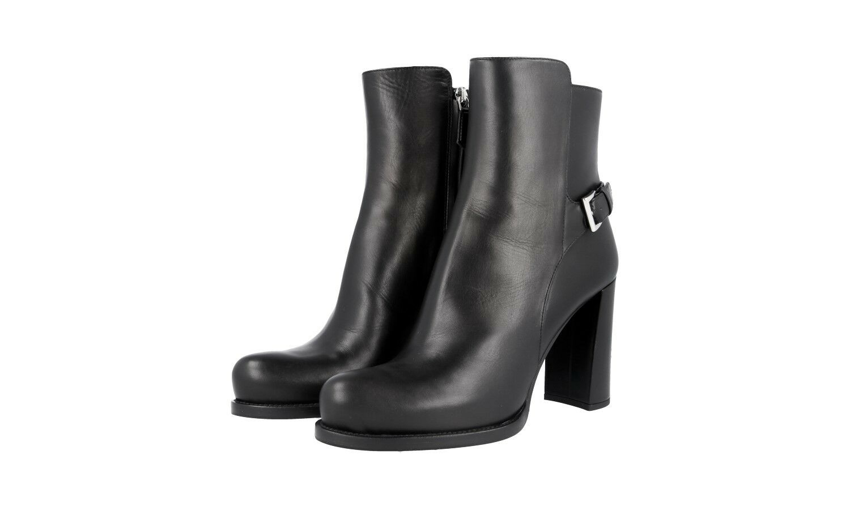 Auténtico de lujo Prada Half-Zapatos Bota 1T192G Negro Nuevo Nuevo Nuevo 36,5 37 Reino Unido 3.5  mejor opcion
