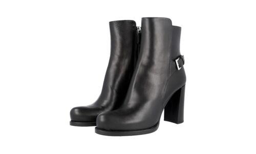 élégantes Chaussures Nouveau Nouveau 36 36 Prada 1t192g 5 Bottines Noir gqOFEw