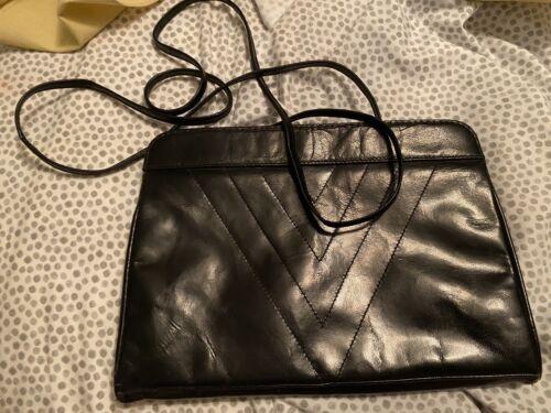 Barbara Bolan Vintage Black Clutch Purse