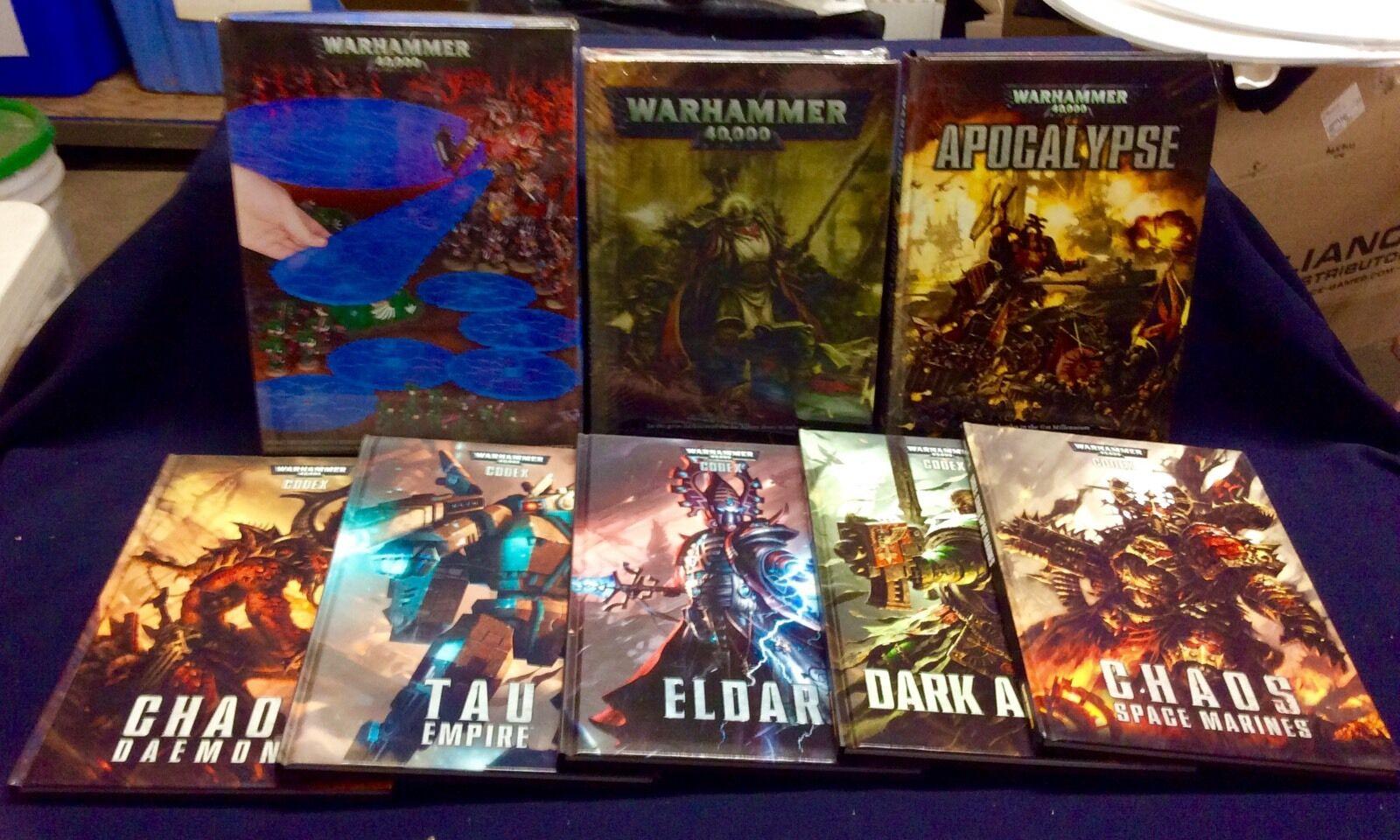 Warhammer Warhammer Warhammer 40k 6th 7th edition Lot c5c546