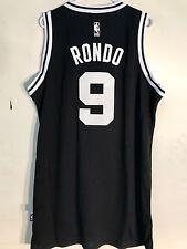 Adidas Swingman NBA Jersey BOSTON Celtics Rajon Rondo Black Black & White sz XL