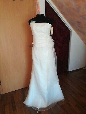 Hochzeit & Besondere Anlässe Kleidung & Accessoires Humorvoll Brautkleid Standesamtkleid Cocktailkleid Abendkleid Gr.38 Ivory 1-b-39