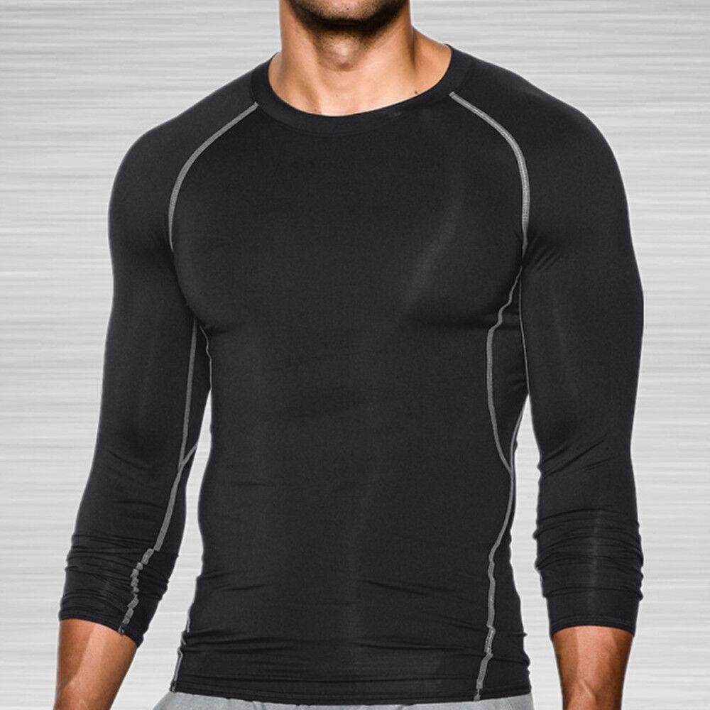 desolateness Mens Long Sleeve Crewneck Top Muscle Long Sleeve Blouse Tee Shirt