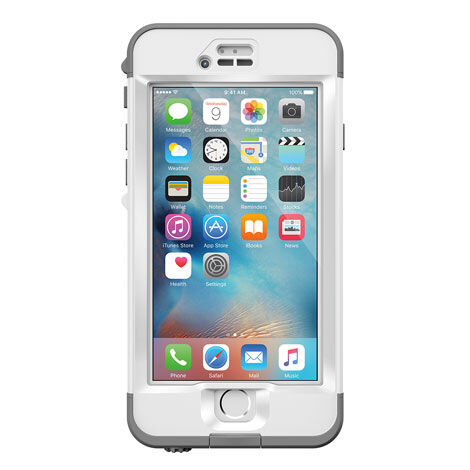 Lifeproof Nuud Waterproof Case For Iphone 6s Only Avalanche For Sale Online Ebay