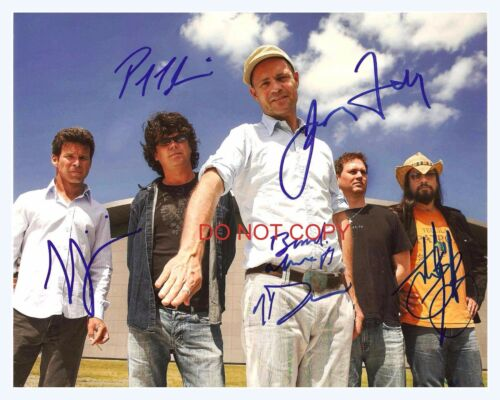 """The Tragically Hip band Reprint Signed 8x10/"""" Photo RP #1 w// Gord Downie"""