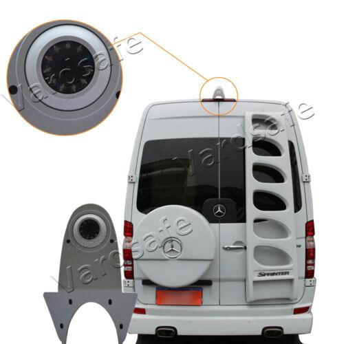 VardsafeWhite Rear view Reverse Parking Backup Camera Kit for MB Sprinter