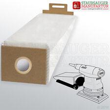 10 Rutscher-Beutel passend für Festool DTS 400 EQ Plus Schleifer-Beutel Beutel