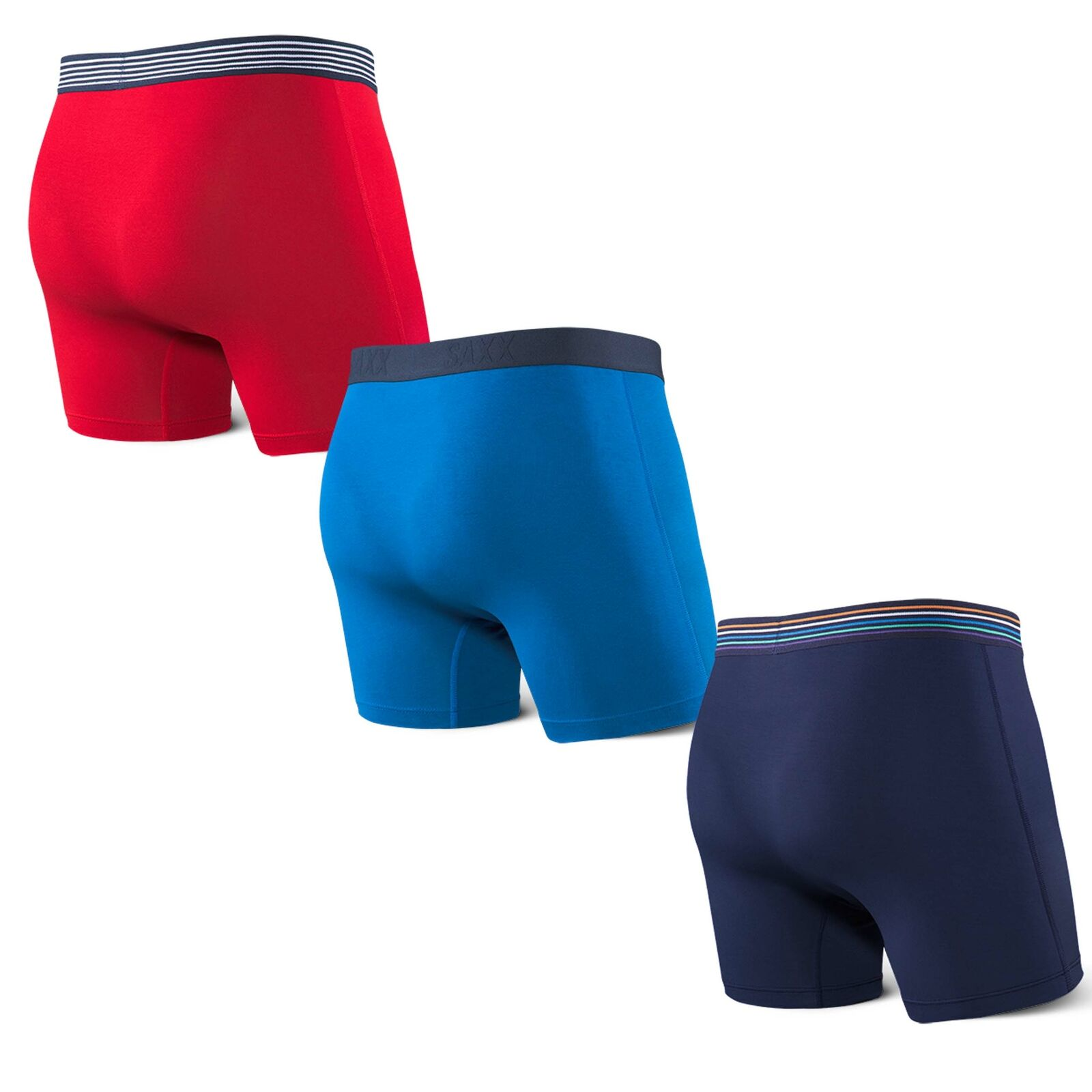 SAXX Ultra Everyday Boxer Brief 3 Pack Multi Set Fly Classic Ultra