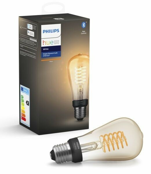 Pære, Philips Hue, Philips Hue White Filament 13.5cm LED…