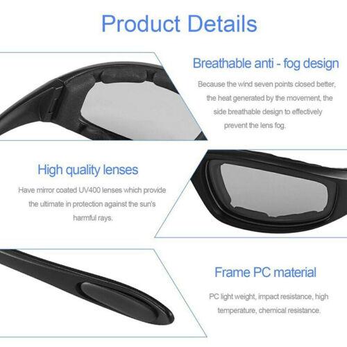 Anti-Reflet Moto Lunettes polarisé conduite de nuit Lentille Lunettes sunglasseses