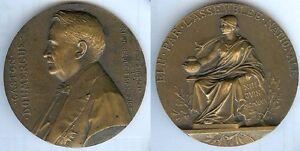 Medaille-de-table-Gaston-DOUMERGUE-president-republique-13-juin-1924-PRUDHOMME