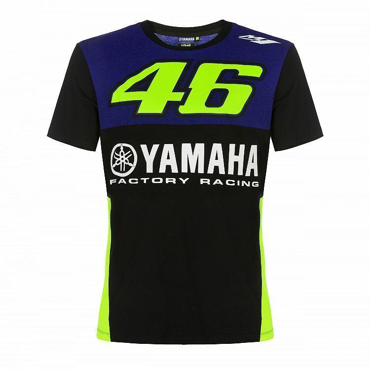 Valentino Rossi Official 46 Yamaha T-Shirt   New   2019 Season Merchandise