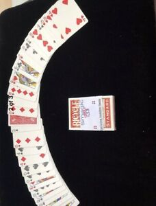 Invisible-Deck-Better-Grip-with-Smoother-Slip-RED-Bicycle-Cards-Magic-Trick