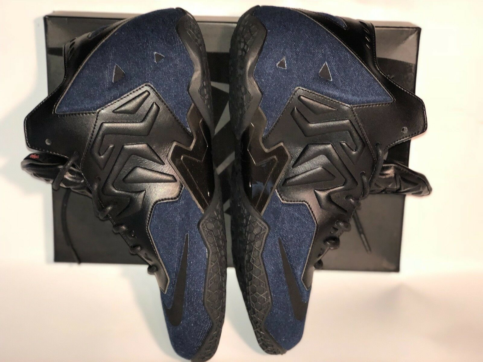 DS Nike Lebron XI 11 EXT Denim QS Comfortable Comfortable and good-looking