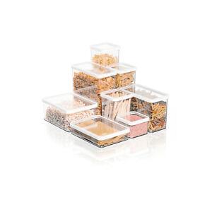 Vorratsgefäße Behälte Kunststoff Box Vorratsdose Aromatdichtboxen Frichaltdosen