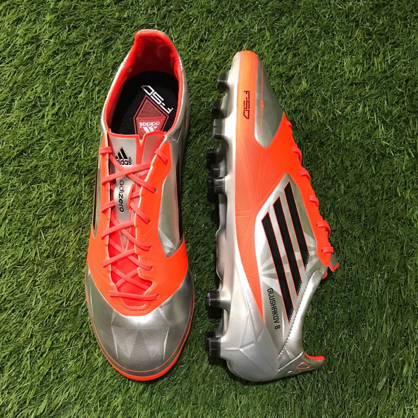 Adidas Adizero F50 TRX FG 8 US Denis Glushakov Rusia Nacional Match Worn botas