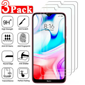 For-Xiaomi-Redmi-8-8A-Note-8-Pro-8T-Clear-HD-Tempered-Glass-Screen-Protector-X3