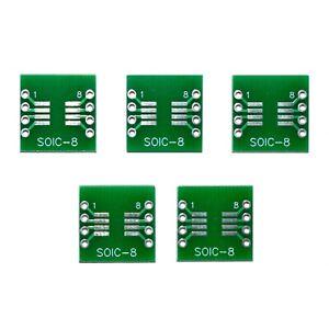 Circuito-integrado-de-perfil-pequeno-8-SOP8-SMD-sumergir-breakout-junta-adaptador-de-placa-de